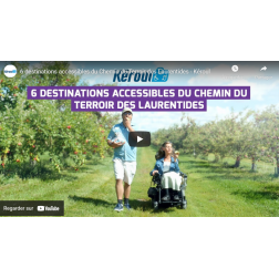 Kéroul: Lancement de la vidéo du Chemin du Terroir des Laurentides