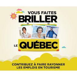 Marque RH tourisme: sondage auprès des travailleurs en tourisme
