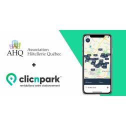 L'AHQ lance un projet de collaboration avec la startup clicNpark