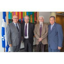Le Palais des congrès et les Fonds de recherche du Québec - un partenariat majeur