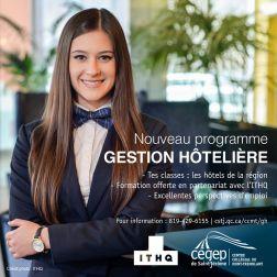 Nouveau programme en Gestion hôtelière à Mont-Tremblant à l'automne 2020