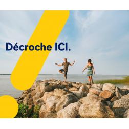 Lancement de la campagne estivale de Tourisme Centre-du-Québec « Décroche, ICI »