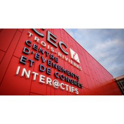 CECI: le nouveau Centre d'événements et de congrès inter@ctifs de Trois-Rivières (décembre 2018)