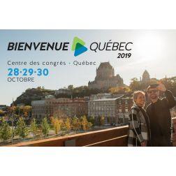 La bourse touristique Bienvenue Québec de retour dans la région de la Capitale nationale pour sa 31e édition du 28 au 30 octobre