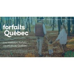 FORFAITS QUÉBEC - 50% de rabais sur l'infolettre dédiée!
