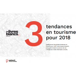 Parkour3 - «3 tendances en tourisme pour 2018»
