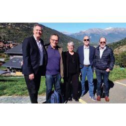Une équipe d'experts des Francophonies de l'innovation touristique (FIT) analyse et propose des solutions innovantes pour la région de Val d'Hérens en Suisse