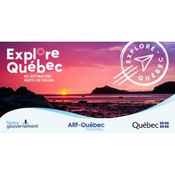 Plus de rabais Explore Québec sur la route  pour la relance touristique du Québec
