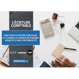 Concours Shopico.ca: Financez votre publicité autrement! - Faire travailler les comptables pour le bénéfice du marketing...