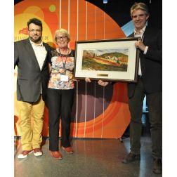 Louise Nadeau reçoit le prix Prestige de Tourisme Gaspésie  et Jean Roy d'Excellence touristique