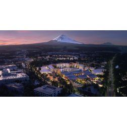 T.O.M.: #CES2020: Toyota bâtira une ville intelligente au pied du Mont Fuji en 2021