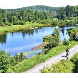 Le gouvernement du Québec accorde 2 M$ pour le parc linéaire Le P'tit Train du Nord