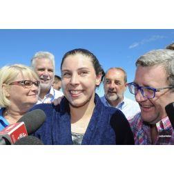 Un déficit moins élevé et une nouvelle présidente - 62e édition de la Traversée internationales du lac Saint-Jean