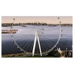 The New-York Wheel : attraction touristique hi-tech