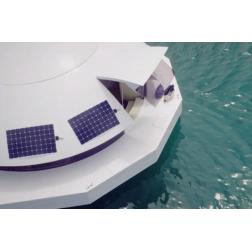 Un prototype d'hébergement flottant présenté à Monaco