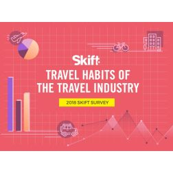 Travel Habits of the Travel Industry