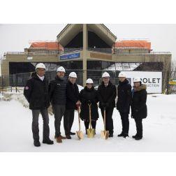 Projet d'agrandissement et de rénovations du Centre des congrès Mont-Sainte-Anne (février 2019)