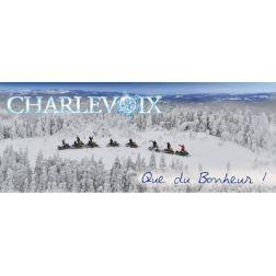 Campagne hivernale d'envergure pour Charlevoix