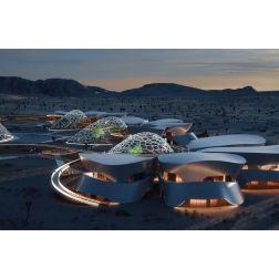 T.O.M.: Ebios: Ce village spatial autosuffisant accueillera des touristes en 2021