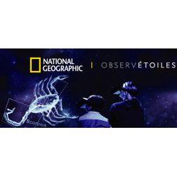 Premier planétarium à ciel ouvert: National Geographic ObservÉtoiles et Au Diable Vert...