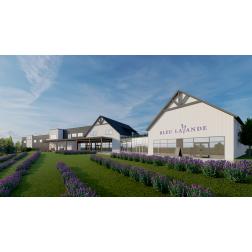 La nouvelle lavanderaie Bleu Lavande - ouverture officielle prévue fin mai