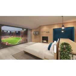 Le premier hôtel dans un stade en France