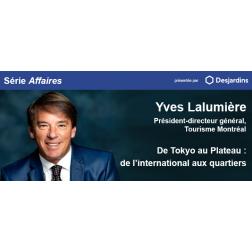 De Tokyo au Plateau: Yves Lalumière, pdg Tourisme Montréal au CORIM le 23 octobre.123