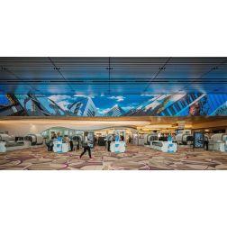 Un «théâtre d'expérience» signé Moment Factory à l'aéroport Singapour-Changi
