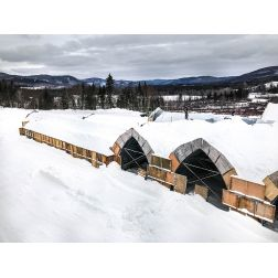 Hôtel de Glace: l'hiver hâtif déclenche l'offre rapide de 100 emplois à Valcartier