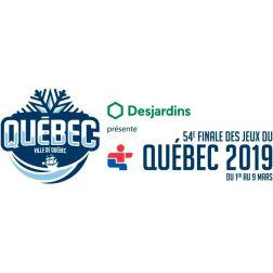 La 54e Finale des Jeux du Québec du 1er au 9 mars - Québec 2019