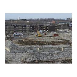 Construction sur le site de l'ancien hôtel des Gouverneurs à Québec
