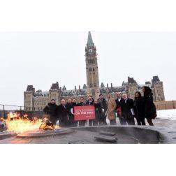 L'AHQ était présente le 6 février au parlement d'Ottawa: hébergement collaboratif et pénurie de main-d'oeuvre ...