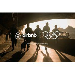 T.OM.: Paris 2024: Airbnb souligne que son partenariat profitera «à tous»