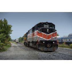 Train Montréal-Sherbrooke: un projet de 90 M $