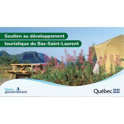 Plus de 520 000 $ pour soutenir le développement touristique du Bas-Saint-Laurent
