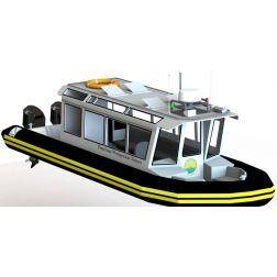 Un bateau d'excursion touristique pour le Conseil des Innus d'Unamen Shipu, sur la Côte-Nord