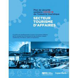 Le Plan de sécurité sanitaire COVID-19 pour le secteur du tourisme d'affaires désormais approuvé
