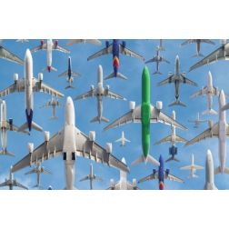 N'y a t-il pas finalement trop d' avions dans le ciel ?