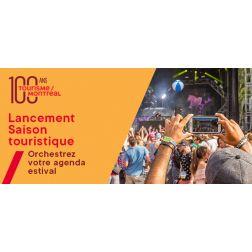 Lancement saison estivale Tourisme Montréal - Foire touristique