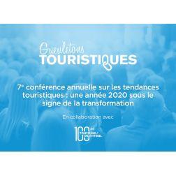 7e conférence annuelle sur les tendances touristiques: une année 2020 sous le signe de la transformation - le 21 janvier 2020