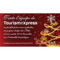 TourismExpress vous souhaite de joyeuses Fêtes!
