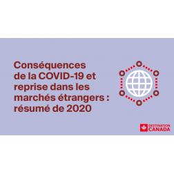 Conséquences de la COVID-19 et reprise dans les marchés étrangers : résumé de 2020