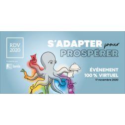 RDV 2020 de l'Association Restauration Québec «S'adapter pour prospérer!» le 17 novembre