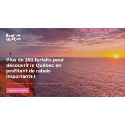 Lancement du nouveau portail Explore Québec