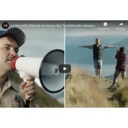 T.O.M.: La Nouvelle-Zélande se moque des photos des touristes sur les réseaux sociaux