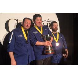 Le chef montréalais Eric Gonzalez de L'Atelier de Joël Robuchon a remporté l'argent au Championnat culinaire canadien