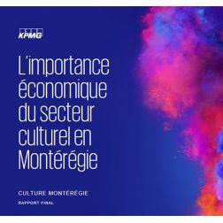 Étude sur l'importance économique du secteur culturel en Montérégie