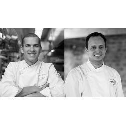 Le duo de Chefs Relais & Châteaux s'associe à l'occasion d'un menu pour emporter à quatre mains
