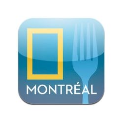 L'application iPad A Taste of Montreal se démarque