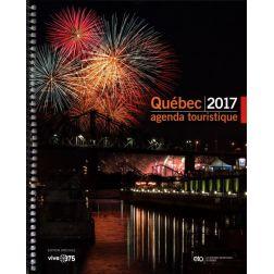 Prévente: Agenda touristique du Québec 2017, édition spéciale 375e anniversaire de Montréal